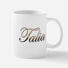 Gold Talia Mug