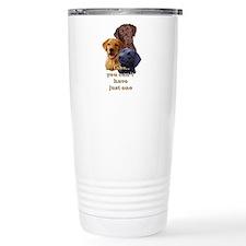 Unique Labrador retrievers hunting Travel Mug