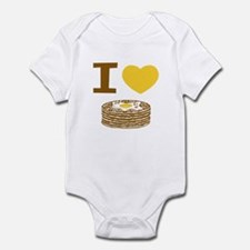 I Love Pancakes Infant Bodysuit