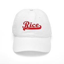 Rice (retro-sport-red) Baseball Cap