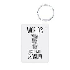 Best Loved Grandpa Keychains