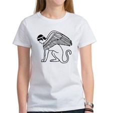 Ptolemaic Winged Sphynx Tee