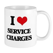 I Love Service Charges Mugs