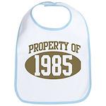 Property of 1985 Bib