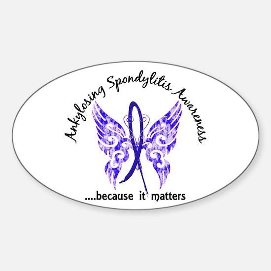 AS Butterfly 6.1 Sticker (Oval)
