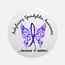 AS Butterfly 6.1 Ornament (Round)