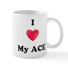 I Love My Ace Mugs