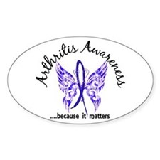 Arthritis Butterfly 6.1 Decal