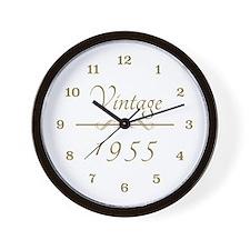 1955 Vintage Wall Clock