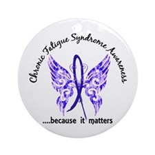 CFS Butterfly 6.1 Ornament (Round)