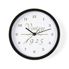 1925 Vintage Wall Clock