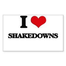 I Love Shakedowns Decal