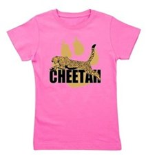 Cute Cheetah Girl's Tee