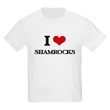 I Love Shamrocks T-Shirt