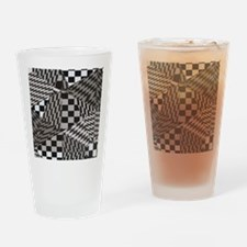 Fractal Paradise Drinking Glass