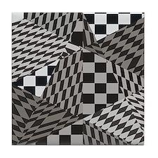 Fractal Paradise Tile Coaster