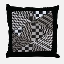Fractal Paradise Throw Pillow