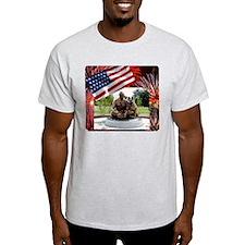 German Shepherd War Dog Memorial T-Shirt