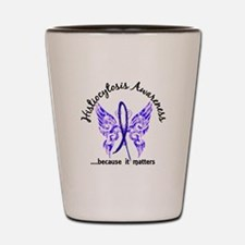 Histiocytosis Butterfly 6.1 Shot Glass