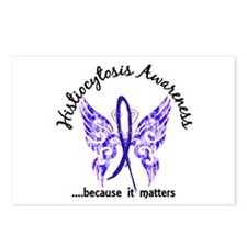 Histiocytosis Butterfly 6 Postcards (Package of 8)