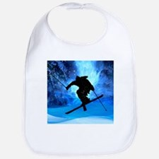Winter Landscape and Freestyle Skier.png Bib