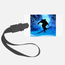 Winter Landscape and Freestyle S Luggage Tag