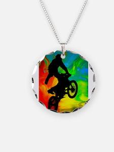 Motocross in a Solar Melt Do Necklace
