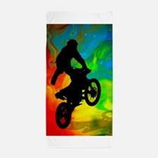 Motocross in a Solar Melt Down .png Beach Towel