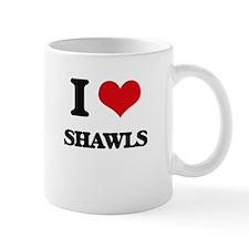 I Love Shawls Mugs