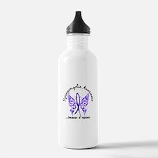 Syringomyelia Butterfl Water Bottle