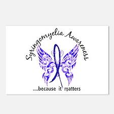 Syringomyelia Butterfly 6 Postcards (Package of 8)