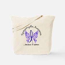 Syringomyelia Butterfly 6.1 Tote Bag
