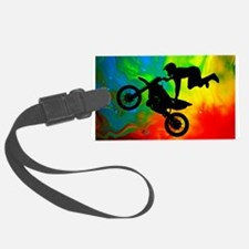 Solar Flare Up Motocross.png Luggage Tag