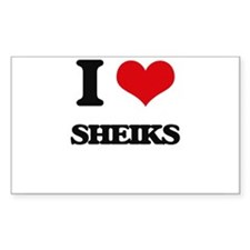 I Love Sheiks Decal