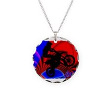 Motocrossing Going Loopy Edg Necklace