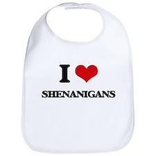 I Love Shenanigans Bib