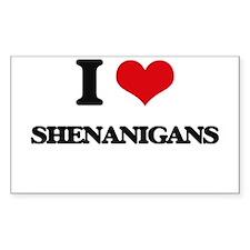 I Love Shenanigans Stickers