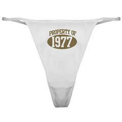 Property of 1977 Classic Thong