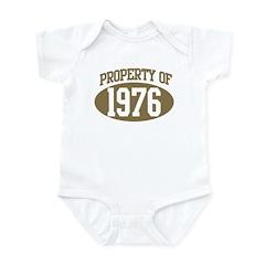 Property of 1976 Infant Bodysuit