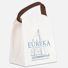 Eureka California - Canvas Lunch Bag