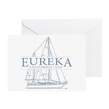 Eureka California - Greeting Card