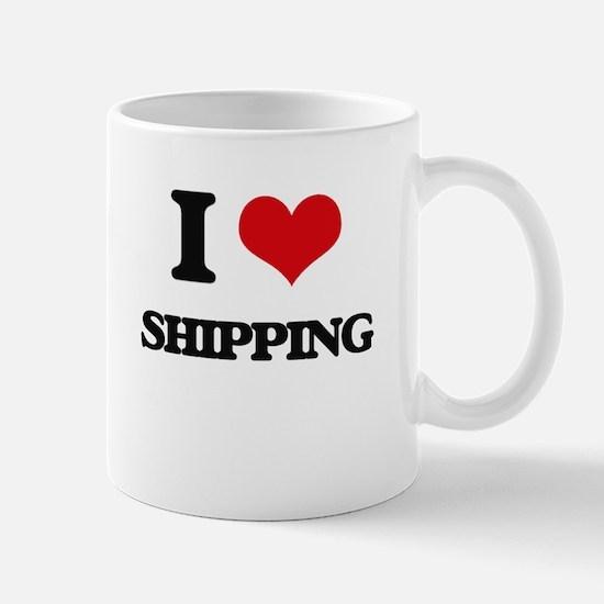 I Love Shipping Mugs