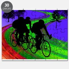 Cycling Trio on Ribbon Road.png Puzzle