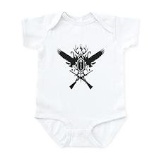 Hunters Tattoo Logo Infant Bodysuit