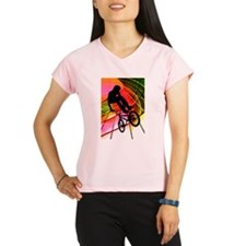 BMX in Lines and Circles Performance Dry T-Shirt