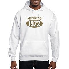 Property of 1972 Hoodie