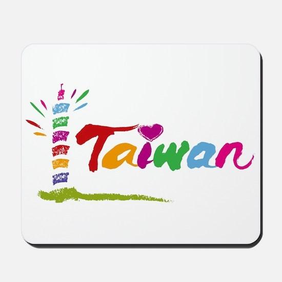 Taiwan Mousepad