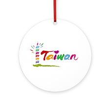 Taiwan Ornament (Round)