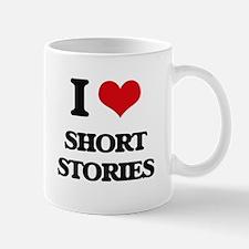 I Love Short Stories Mugs