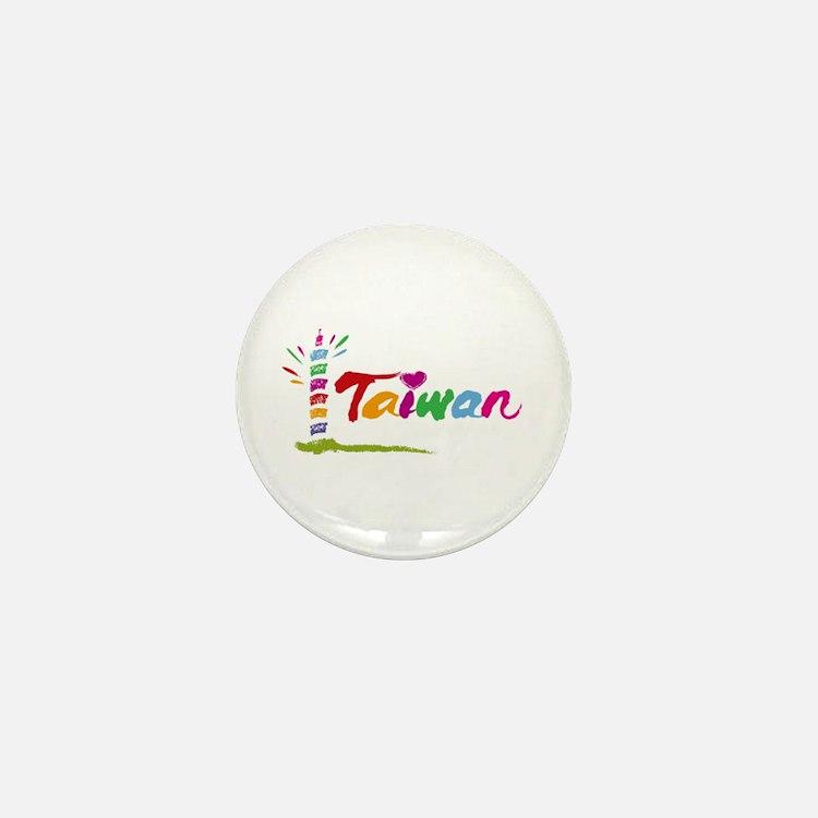 Taiwan Mini Button